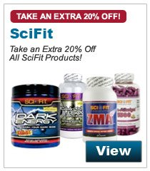Take an Extra 20% Off All SciFit Products!
