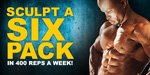 Sculpt A Six Pack In 400 Reps A Week