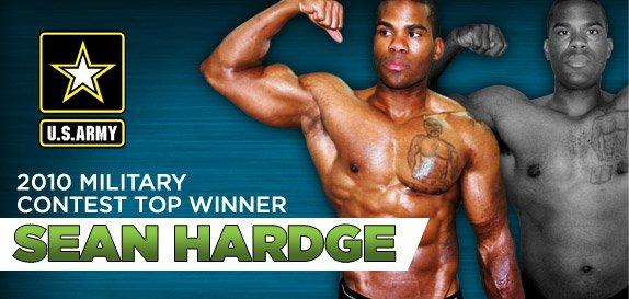 2010 Military Challenge Top Winner Sean Hardge