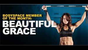 Female BodySpace Member of the Year: Beautifulgrace
