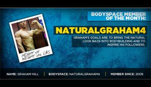 Male BodySpace Member of the Year: NaturalGraham4