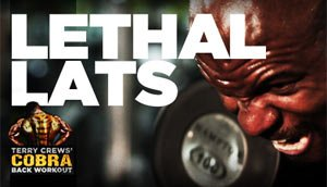 Celebrity Workout of the Year: Get Lethal Lats With Terry Crews' Cobra Back Workout