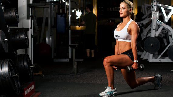 Lower-body love: pair lunges with deadlifts for great results.