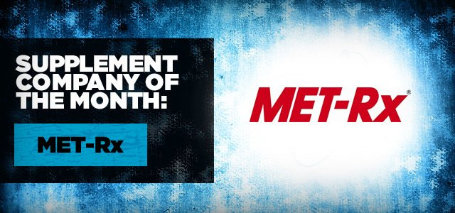 Supplement Company Of The Month: MET-Rx!