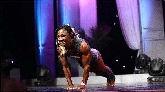 Second place can torment competitors, but Johnson refuses to quit until the Olympia is hers.