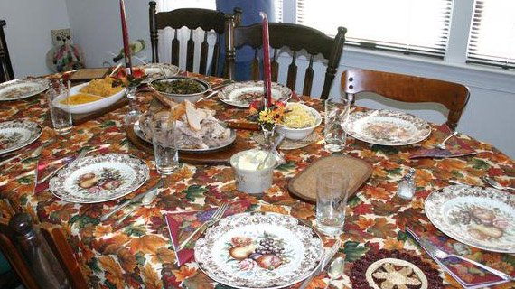 Thanksgiving brings family and friends together after relationships lapse. Cherish your time together.