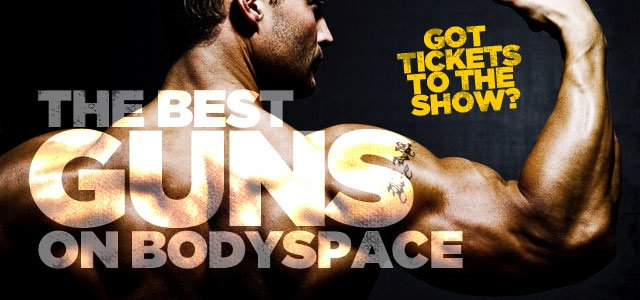 The Best Guns On Bodyspace: Members Show You How To Get Big Arms