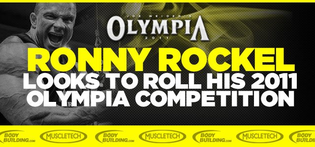 The Rock Looks To Roll His 2011 Olympia Competition