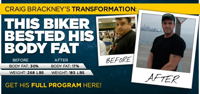 This Biker Bested His Body Fat