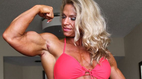 It's okay to be ashamed. Yeah, her biceps ARE bigger than yours.