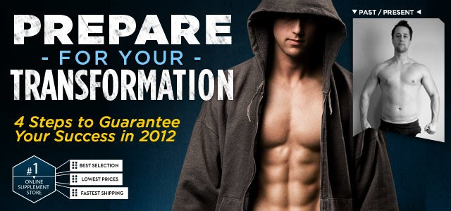 Prepare For Your Transformation! 4 Steps to Guarantee Your Success in 2012