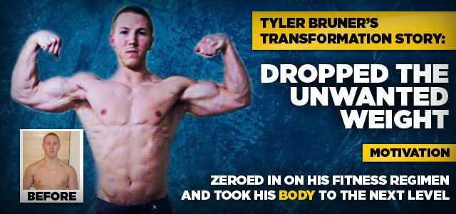 Tyler Dropped The Unwanted Weight And Built A Carved Physique!