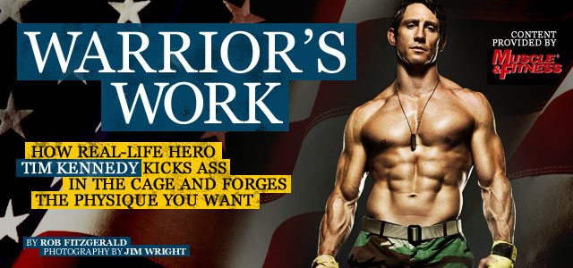 Warrior's Work: Train With Green Beret-Turned-UFC-Middleweight Tim Kennedy