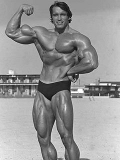 When Schwarzenegger trained arms he would think of them as mountains and each rep got those mountains bigger and bigger