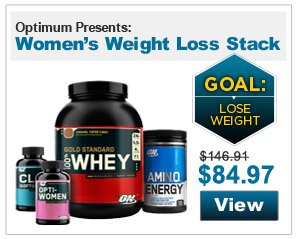 Optimum Presents: Women's Weight Loss Stack