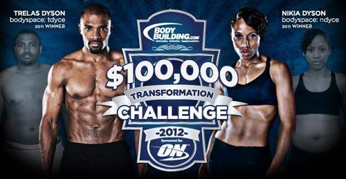 2012 $100,000 Transformation Challenge!
