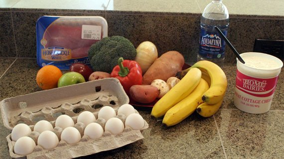 Eat Clean Healthy Foods In Each Meal.