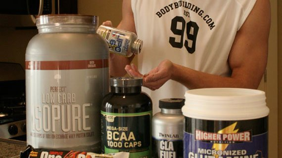 Supplements Only Work With A Sound Workout & Nutrition Program.