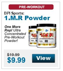 One More Rep! Ultra Concentrated Pre-Workout Powder!