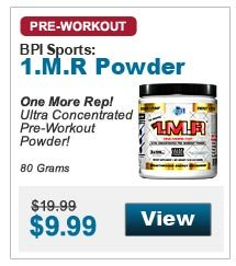 One More Rep! Ultra Concentrated Pre-Workout Powder! 80 Grams