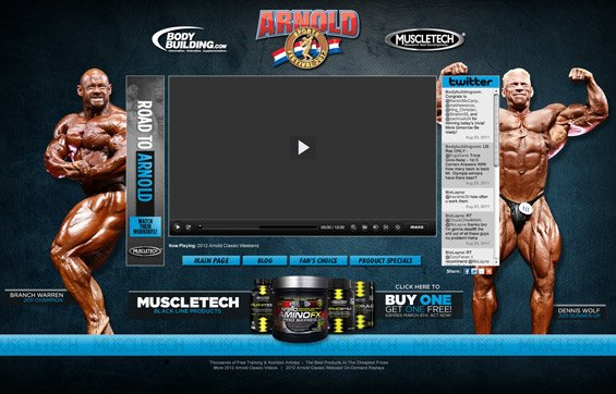 Click To View The 2012 Arnold Classic Webcast!