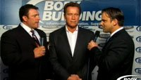 2012 Arnold Classic Finals Webcast Replay - Interview With Arnold Schwarzenegger