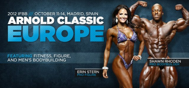 2012 IFBB Arnold Europe