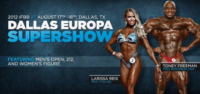 2012 IFBB Dallas Europa