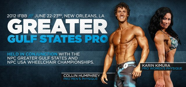 2012 IFBB Greater Gulf States Pro
