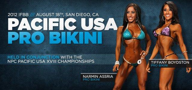 2012 IFBB Pacific USA Pro Bikini