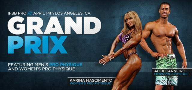 2012 IFBB Pro Grand Prix Los Angeles