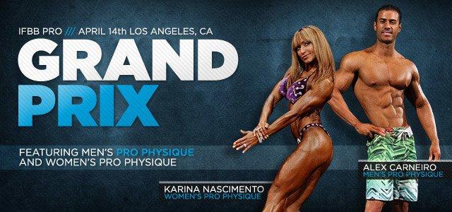 2012 IFBB Pro Grand Prix Los Angeles