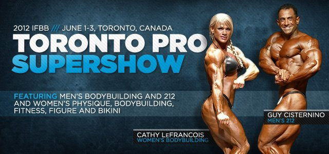 2012 IFBB Toronto Pro