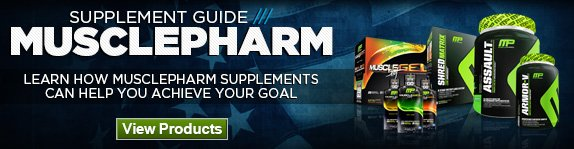 MusclePharm Supplement Guide