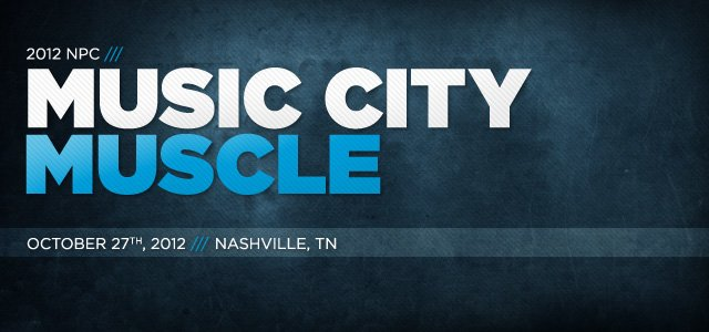 2012 NPC Music City Muscle