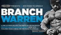 2012 Road To The Arnold Video Series: Champ Branch Warren Readies For The Stage