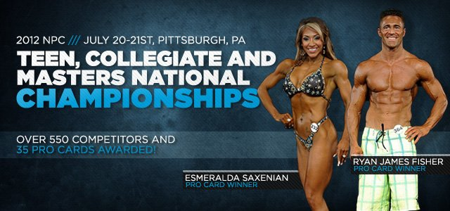 2012 NPC NPC Teen, Collegiate And Masters Nationals