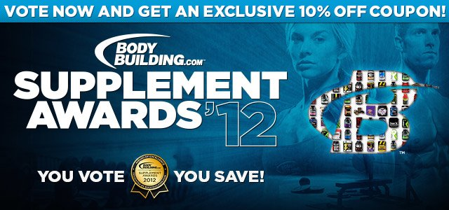 2012 Bodybuilding.com Supplement Awards