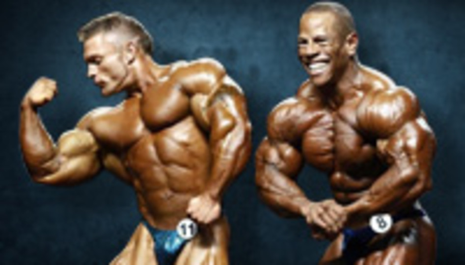 2012 Olympia Weekend 212 Class Prejudging Report