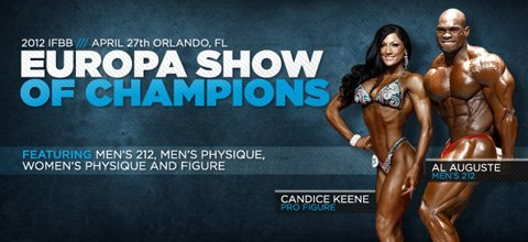 2012 IFBB Europa Show of Champions Orlando