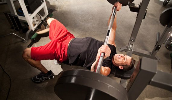 Picture Yourself Performing The Bench Press, Every Set, Every Rep