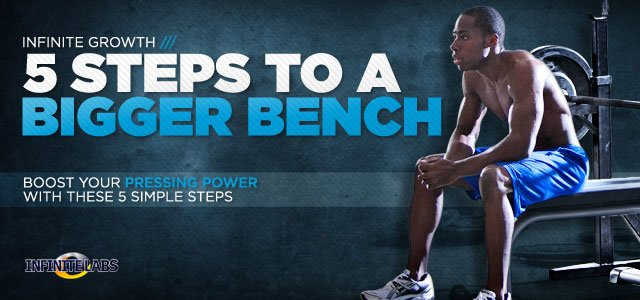 5 Steps To A Bigger Bench.