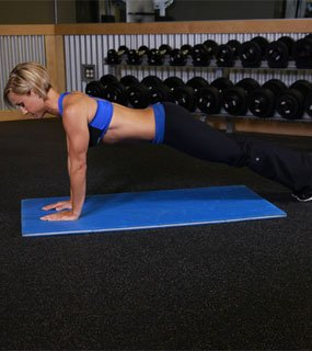 Gina developed her 'No Equipment Workout,'