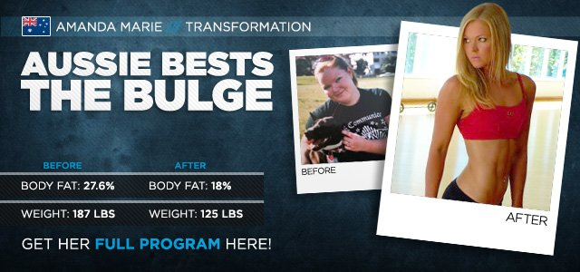 International Transformation Of The Month: Aussie Bests The Bulge