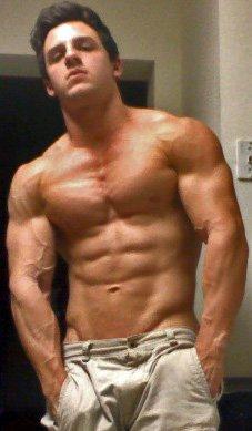 Bodybuilder Matt Smith