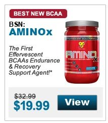 The First  Effervescent BCAAs Endurance & Recovery Support Agent!*