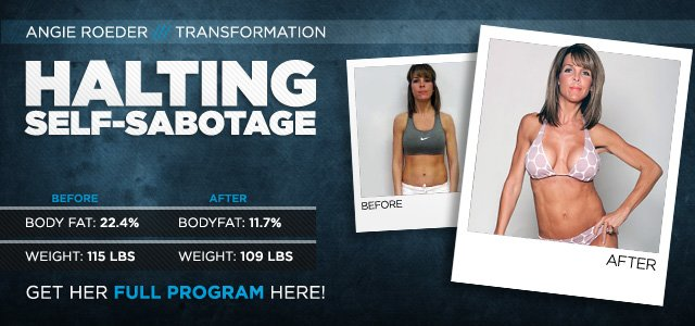 Body Transformation: Halting Self-Sabotage