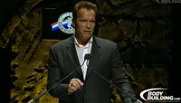 2012 Arnold Classic Finals Webcast Replay - Arnold Schwarzenegger Gives Thanks