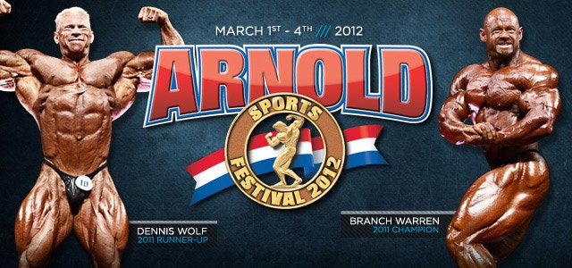2012 Arnold Info Page