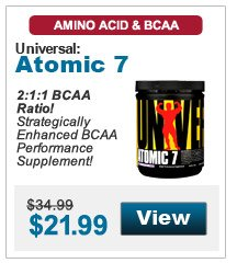 2:1:1 BCAA Ratio! Strategically Enhanced BCAA Performance Supplement!